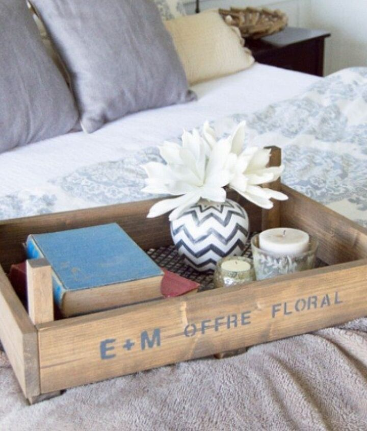 s 9 budget ways to add gleaming metallic accents, crafts, home decor, Build a stylish crate for the coffee table