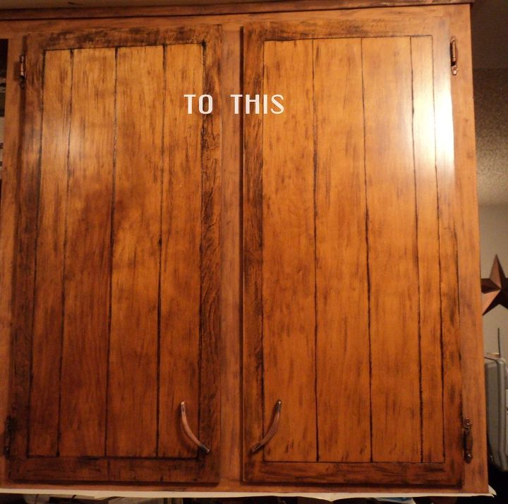 Do THIS to your kitchen cabinets to make them look high ...