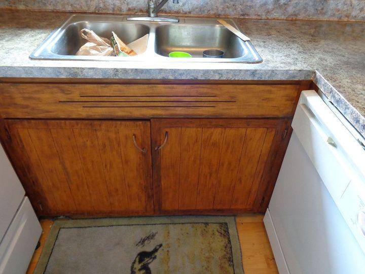 Finished sink cupboard