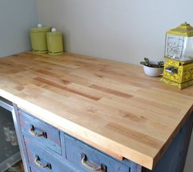 Great Beat Up Garage Cabinet Becomes A Custom Kitchen Countertop Base, Countertops,  Kitchen Cabinets,