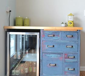 Beat Up Garage Cabinet Becomes A Custom Kitchen Countertop Base,  Countertops, Kitchen Cabinets,