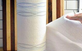 diy paper towel holder, crafts, kitchen design