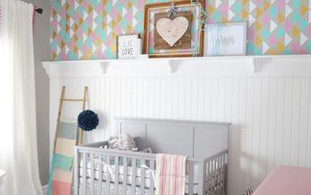 A Modern Stenciled Nursery Done Right!