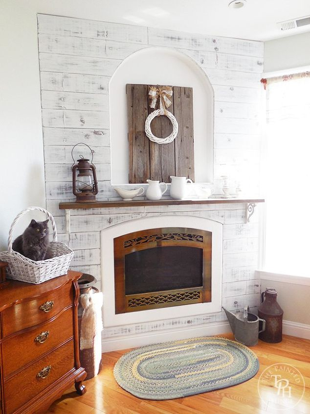 brick furniture living modern interior ideas cool more makeover pin room gray fireplace