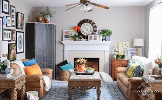 family room refresh newyearnewroomchallenge, fireplaces mantels, home decor, living room ideas
