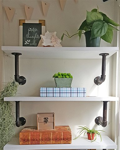 Beautiful Dining Room Shelf Images