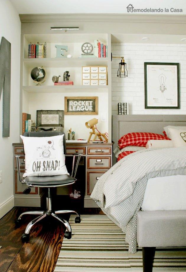 Teen Boy Bedroom Makeover | Hometalk