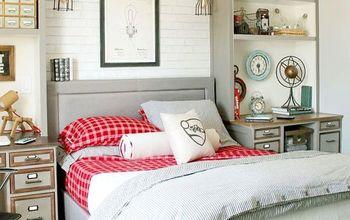 Teen Boy Bedroom Makeover