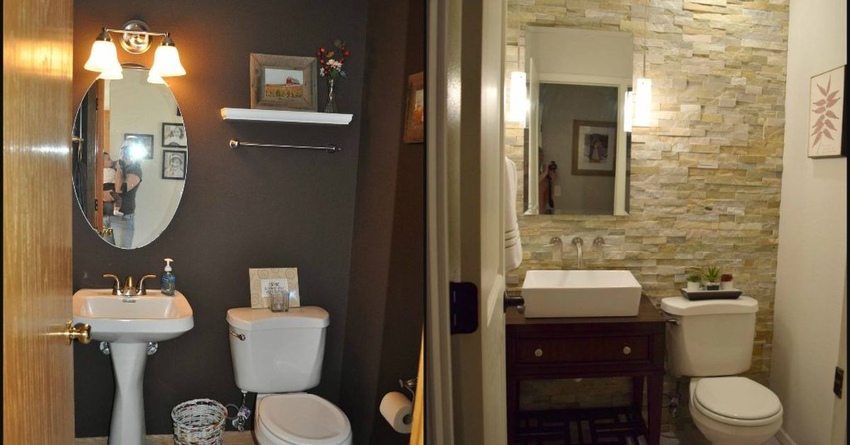 Half Bath Renovation Hometalk - Half-bathroom-ideas