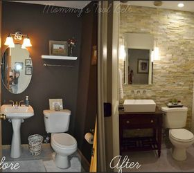 Charmant Half Bath Renovation, Bathroom Ideas, Diy, Home Improvement