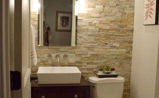 half bath ideas. half bath renovation  bathroom ideas diy home improvement Christina Rustic Hometalk
