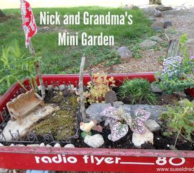 Nick And Grandma S Mini Garden, Container Gardening, Diy, Gardening,  Repurposing Upcycling