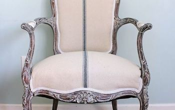 French Chair Repair and Makeover