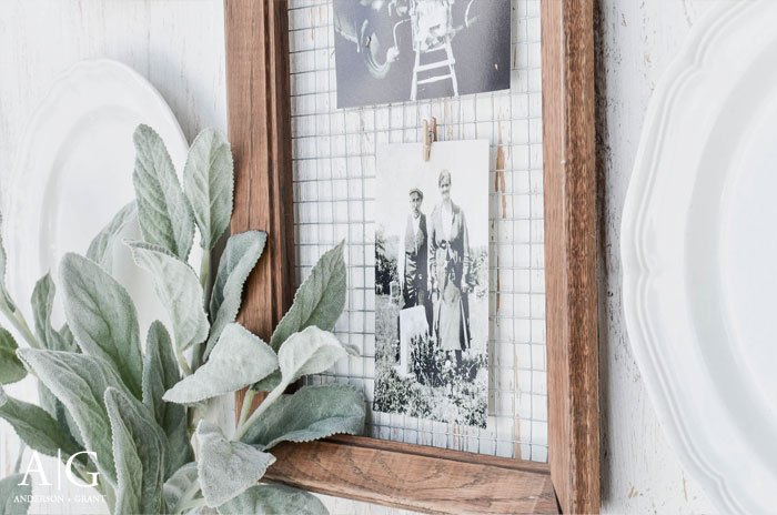 Unique Way to Display Photos in a DIY Picture Frame | Hometalk