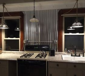 Revamped Kitchen To Farmhouse Industrial, Kitchen Backsplash, Kitchen  Cabinets, Kitchen Design, Rustic