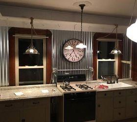 Revamped Kitchen To Farmhouse Industrial, Kitchen Backsplash, Kitchen  Cabinets, Kitchen Design, Rustic