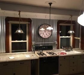 Ordinaire Revamped Kitchen To Farmhouse Industrial, Kitchen Backsplash, Kitchen  Cabinets, Kitchen Design, Rustic