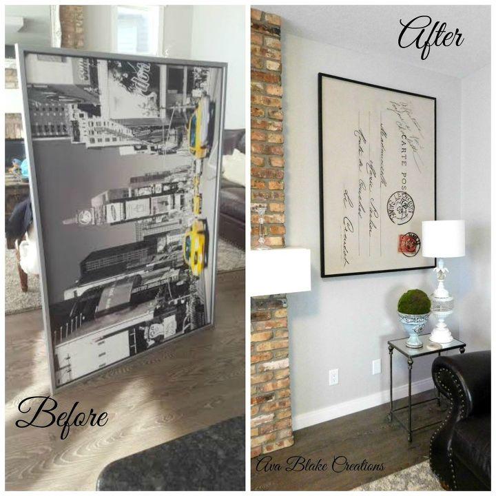 Restoration Hardware Kijiji: Ikea Wall Art Upcycle