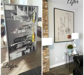 Ikea Wall Art To Restoration Hardware Letter Hack All In One, Crafts,  Repurposing Upcycling