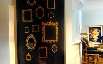 Awkward Wall Gets a Chalkboard Paint Makeover