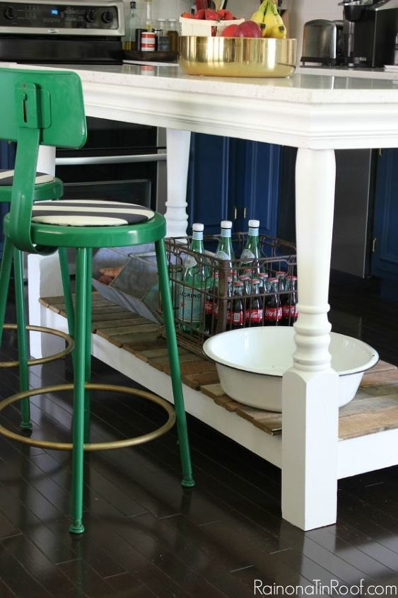 how to build a kitchen island, diy, home decor, how to, kitchen design, kitchen island, painted furniture, woodworking projects