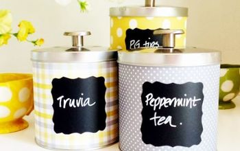DIY Tin Can Containers and Organizers