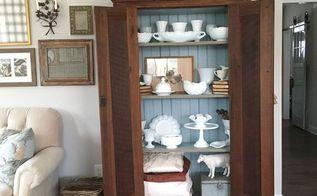 diy rustic cabinet rehab, diy, painted furniture, rustic furniture, Rhiann Wynn Nolet