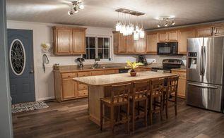 foreclosure renovation kitchen edition, diy, home improvement, kitchen design, painting