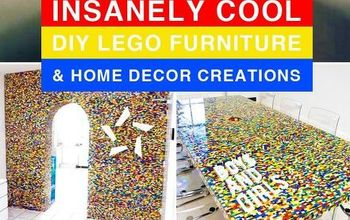 21 insanely cool diy lego furniture and home decor creations, crafts, home decor
