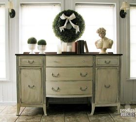 vintage sideboard gets refreshed diy painted furniture