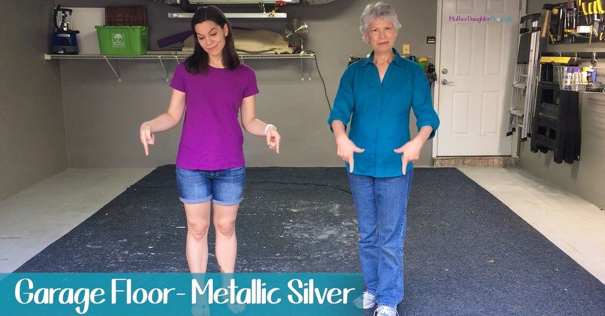 Diy Your Garage Floor From Drab To Fab Hometalk