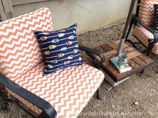 Diy Umbrella Stand With Side Table Hometalk