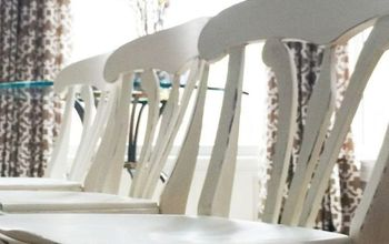 Furniture Makeover : Simple Way to Turn Bar Stools Into Table Chairs