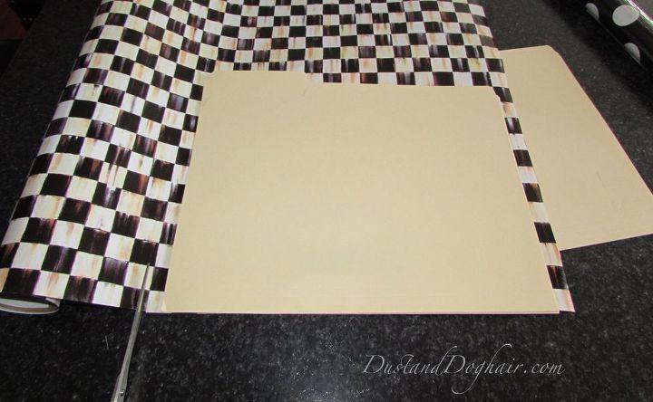 diy decorative file folders, crafts, organizing