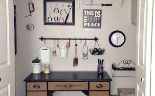 craft room closet makeover love my diy home, closet, craft rooms, diy, home office