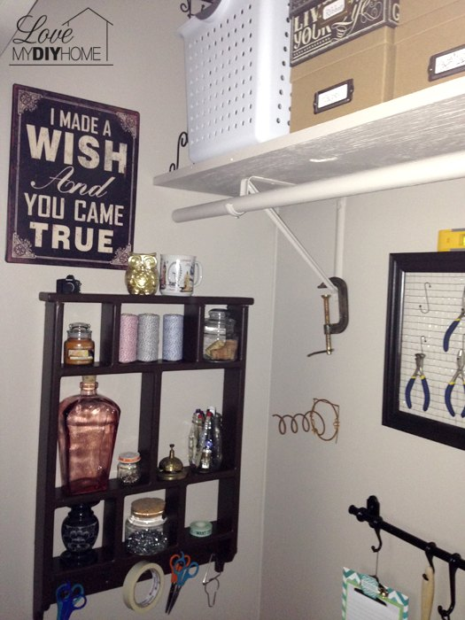 craft room closet makeover love my diy home, closet, craft rooms, diy, home office