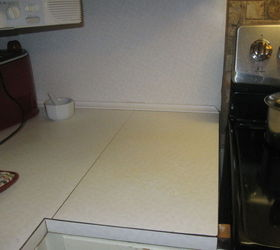 Q I Want To Cover Up Or Paint My Old Formica Counter Tops In The Kitchen,