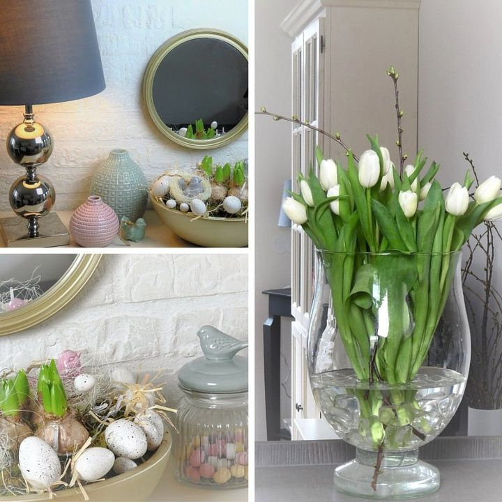 Super easy spring easter decor ideas hometalk for Easter home decorations