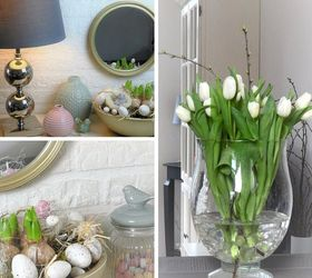 Super Easy Spring Easter Decor Ideas, Easter Decorations, Flowers, Home  Decor, Seasonal