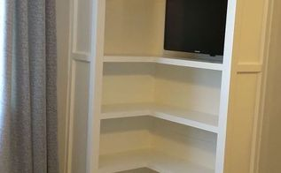 built ins for our bedroom, bedroom ideas, diy, shelving ideas