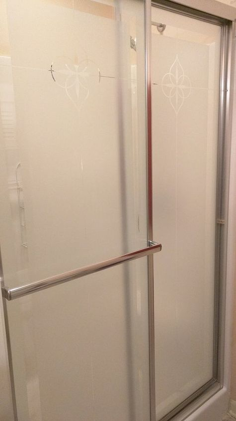q how to diy hinged shower door, bathroom ideas, doors, home maintenance repairs, minor home repair