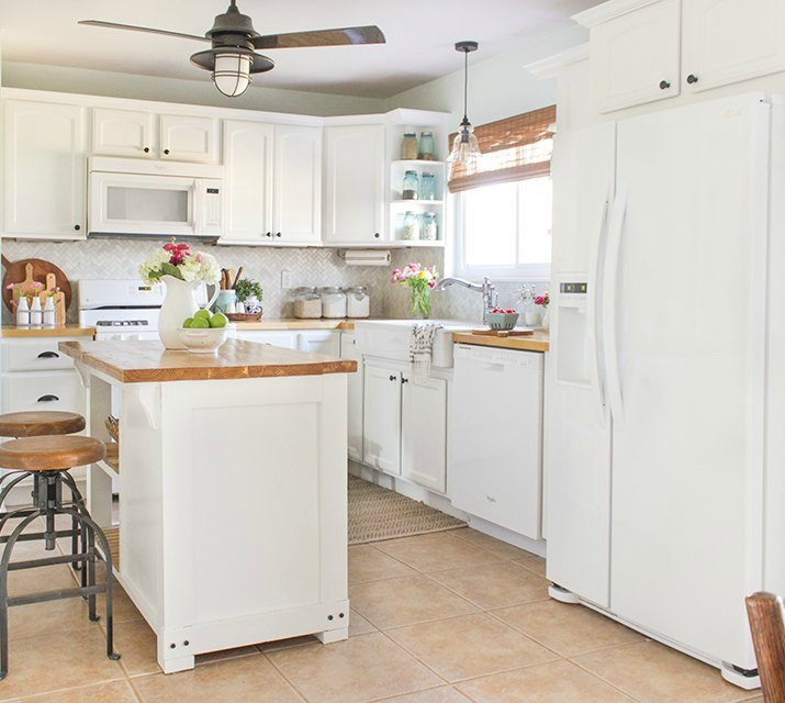 14 Creative Ways To Decorate A Kitchen: 14 Easiest Ways To Totally Transform Your Kitchen Cabinets