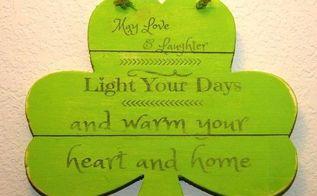 an irish blessing wall decor, crafts, seasonal holiday decor, wall decor