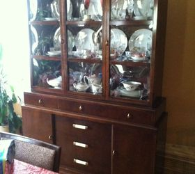 can chalk paint be used right over varnished stain piece of rh hometalk com