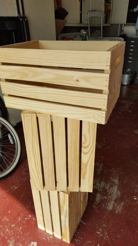 from crates to coffee, diy, painted furniture, repurposing upcycling, woodworking projects