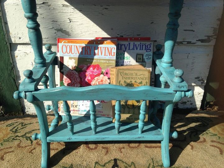 Excellent From Blah to Springtime Cottage Chic! Magazine Rack Table | Hometalk MU71