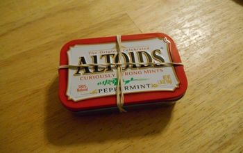 Altoid Tins Emergency Kit