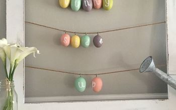 Easter Egg Spring Sign