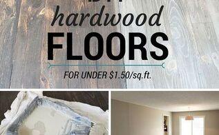 diy hardwood floors for under 1 50 sq ft, diy, flooring, hardwood floors, home improvement