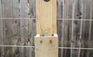 pallet wood bottle cap catcher, diy, outdoor living, pallet, woodworking projects